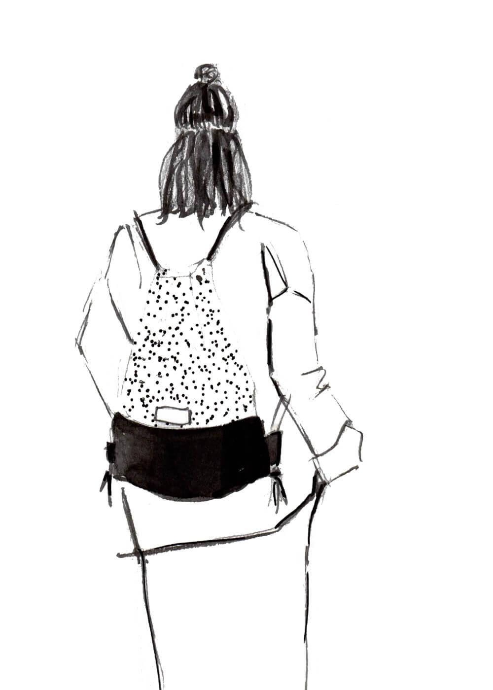 Wunschleder, Mode Illustrationen, Punkte