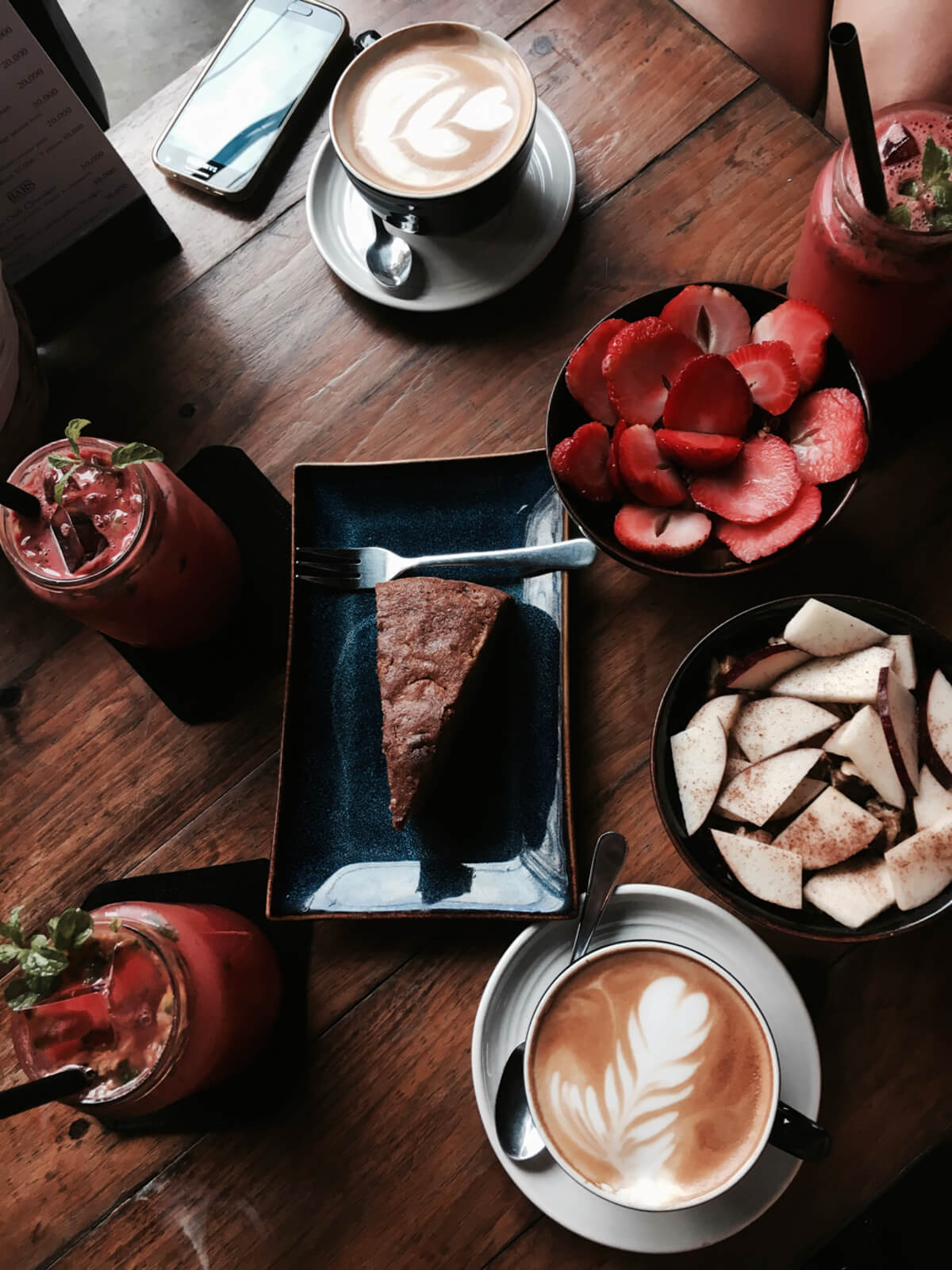 Cafe Muster Wunschleder