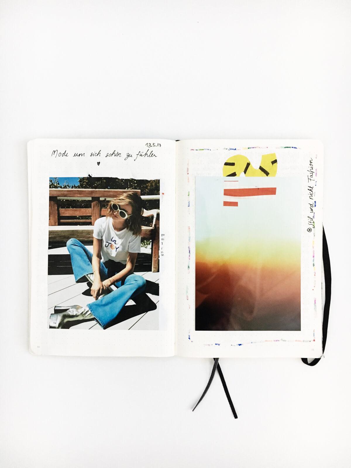 Vom Eintrag im Skizzenbuch zum Konzept für ein Fotoshooting ! So geht's | Wunschleder