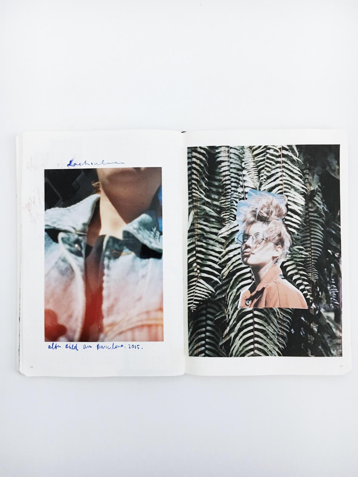So entsteht aus einem Skizzenbucheintrag ein Konzept für ein Fotoshooting ! Wunschleder | Collage | Mode | Fashion