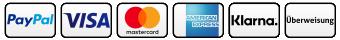 Verfügbare Zahlungsarten