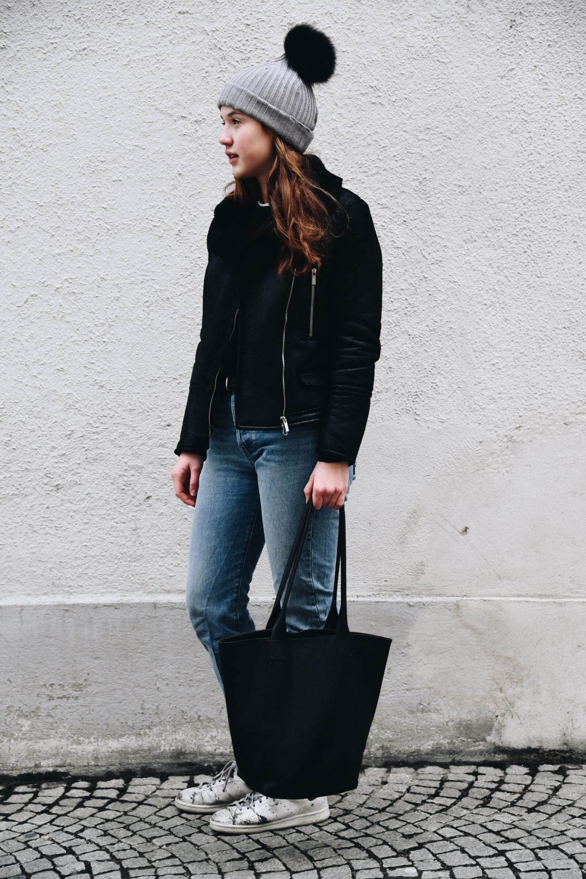 Shopper Leder | Streetwear | Tasche | Made in Germany | Ledertasche | Handtasche | Arbeiten | Unitasche | Tasche aus Leder | schlicht | elegant | chic | Damen | Handtasche Leder | Handtasche kaufen | HoBoBag| oliv | hochwertig | gute Qualität