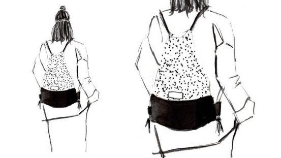 Mode Illustrationen, Punkte, Wunschleder