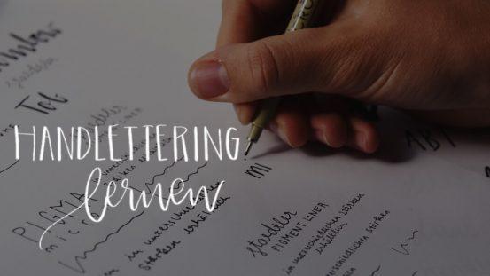 Wunschleder Brushlettering How to Erklärung für Anfänger Tipps Handlettering lernen