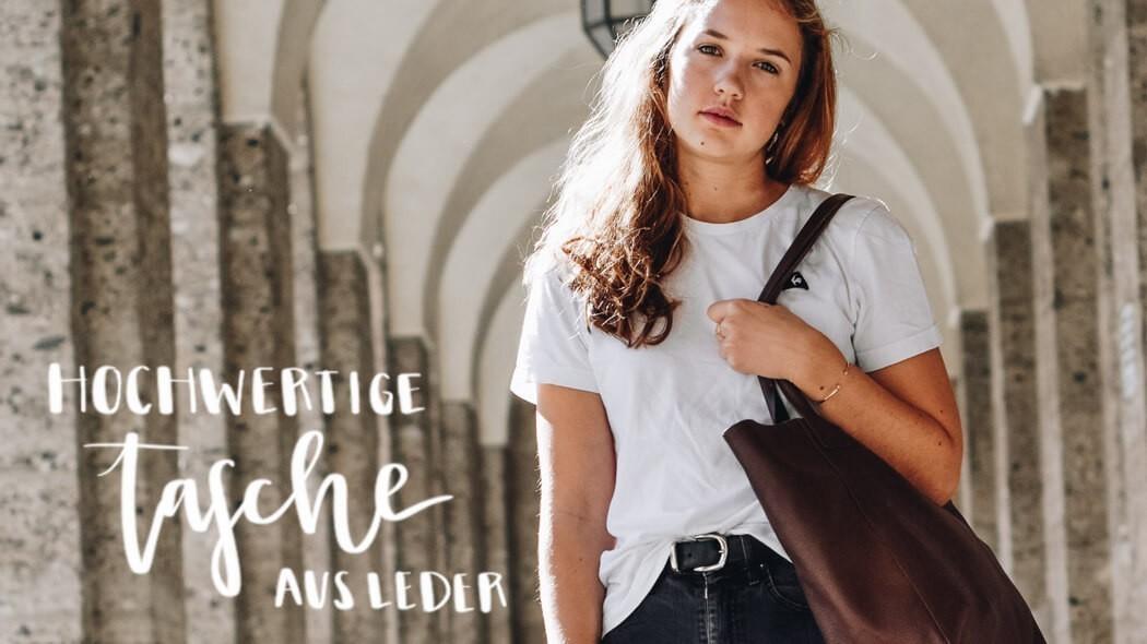 Tasche aus Leder | Ledertasche | Wunschleder
