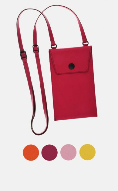 Smartphone Umhängetasche aus Leder