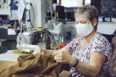 Mitarbeiter | Manufaktur | Schneiderei | Werkstatt | Maskufaktur | Wunschleder